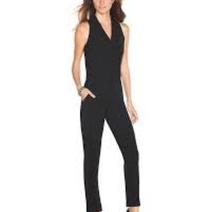 White House Black Market Tux Jumpsuit 6
